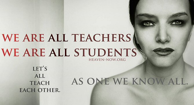 We Are All Teachers, We Are All Students