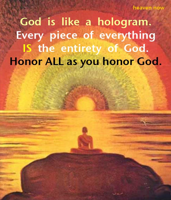 God Is Like a Hologram